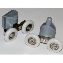 Ролик нижний двойной(S-4) 23 мм с кнопкой  7529