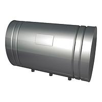 Бак для теплообменника Тритон, 80л.AISI 439/0,8мм,Г/Лев,(штуцер 3/4)   5915