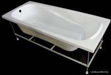 Ванна SERENA Simple LA 1700х700 в комплекте с ножками   10308