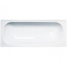 Ванна стальная ANTIKA с опорной подставкой 120*70*40 (Белая орхидея) с рантом А-20901   7114